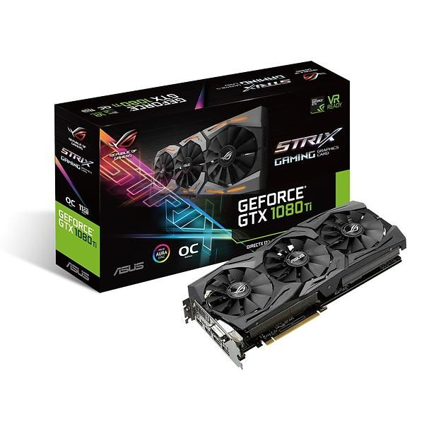 Asus GeForce GTX 1080 Ti ROG Strix OC