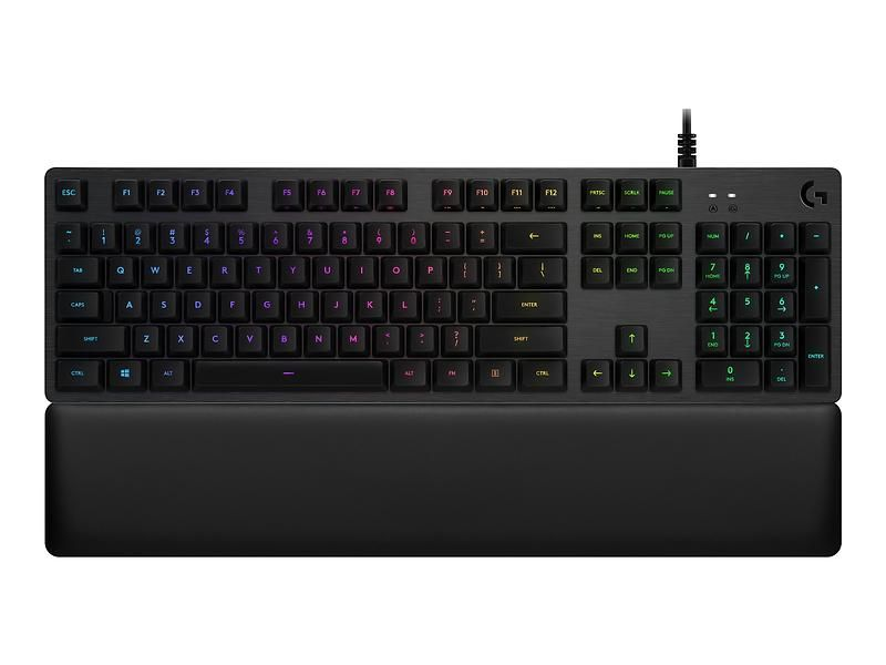 Logitech G513 Carbon Tactile Gaming Keyboard (Nordisk)