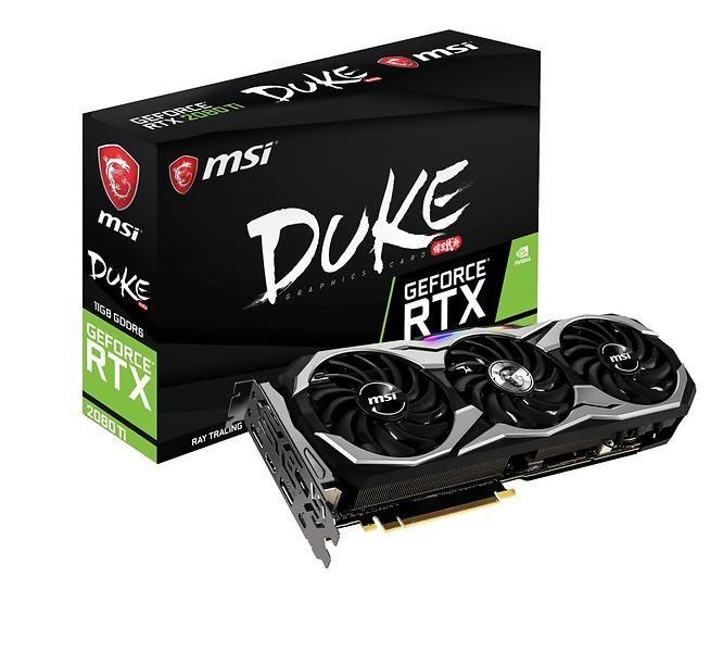 MSI GeForce RTX 2080 Ti Duke OC HDMI 3xDP 11GB
