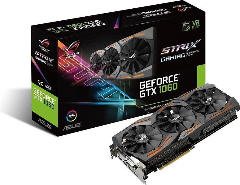 Asus GeForce GTX 1060 Strix Gaming OC