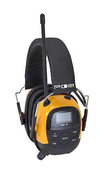 Pop@work Pro DAB+ Bluetooth hørselvern