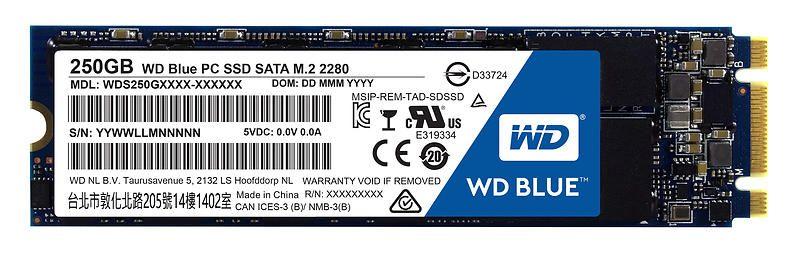 Western Digital WD Blue SSD 250GB M.2